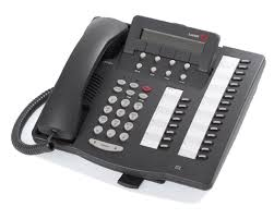 Avaya 6424D+M Telephone | 24 Line Display | Refurbished