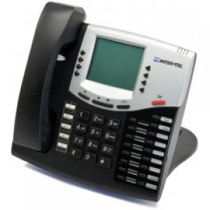 Intertel 5508662 | Black IP Display Phone | Refurbished