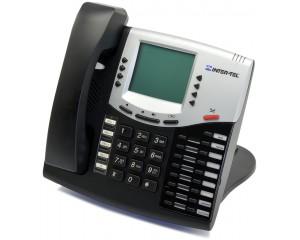 Intertel 5508662 | Black IP Display Phone | Refurbished