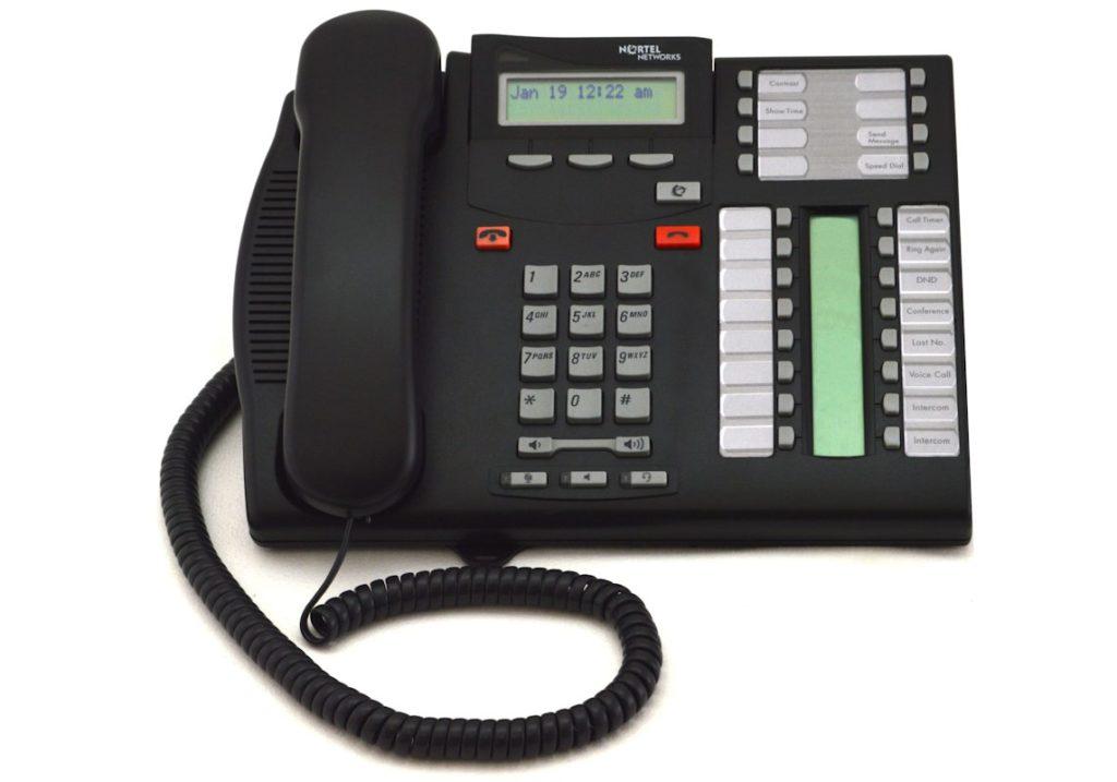 Nortel T7316E Telephone - Charcoal (NT8B27)