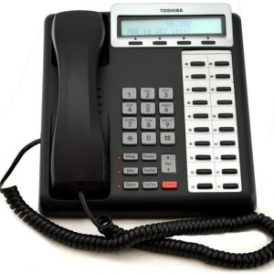 Toshiba - DKT3220SD Telephone  (20 Button Digital Display/Speaker)