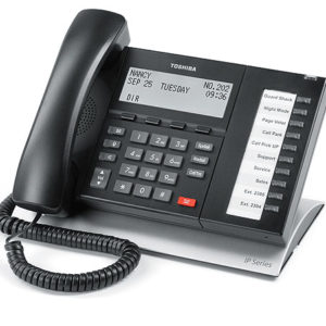 Toshiba - IP5522-SD 10 Button IP Telephone NEW