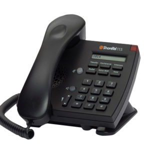 Shoretel - IP115 Telephone (Black)