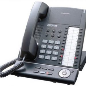 Panasonic - KXT7625 24 Button Speakerphone (Black)