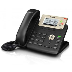 Yealink SIP-T23G IP Phone with Dual-Port Gig Ethernet - PoE Enabled (SIP-T23G) New