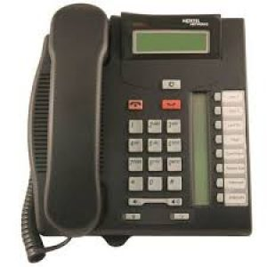 Nortel T7208 Telephone - Charcoal (NT8B26)