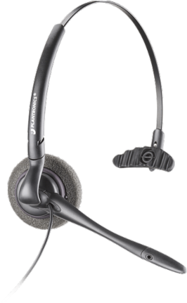 Plantronics - H141N DuoSet with Noise Cancelling Mic