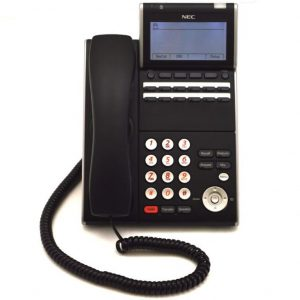 NEC ITL 12D-1(Black) IP Display Phone | DT730 (690002)