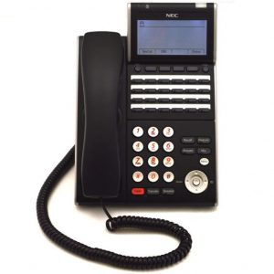 NEC ITL 24D-1(Black) IP Display Phone | DT730 (690004)