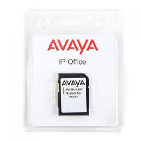 Avaya IP500 V2 System SD Card Mu Law (700479710) New