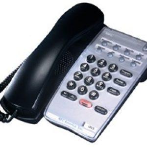 NEC UX5000 Black Enhanced Single Line Telephone (780025)