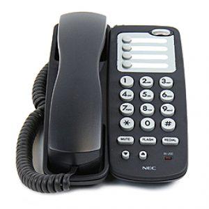 NEC UX5000 Black Single Line Telephone (780034)