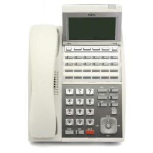 NEC UX5000 White 24-Button Display Terminal (0910050)