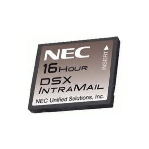 NEC DSX Intramail 8- Port/ 16- Hour Voice Mail- 128 Mailboxes (1091013) Refurbished