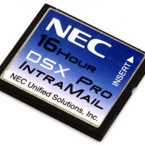 NEC DSX Intramail Pro 4- Port/ 16- Hour Voice Mail- 128 Mailboxes (1091051) Refurbished