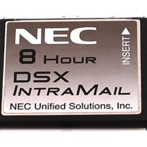 NEC DSX Intramail 2- Port/ 8- Hour Voice Mail- 128 Mailboxes (1091060) Refurbished