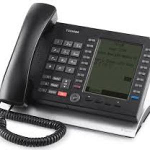 Toshiba - IP5531-SDL IP Telephone with Large Display