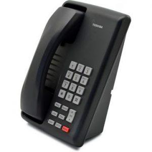 Toshiba - DKT3201 Phone (charcoal)
