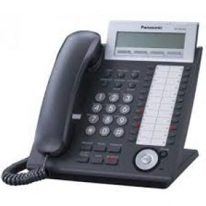 Panasonic - KX-NT343-B  24 Button Black VOIP Display Speakerphone (Black)