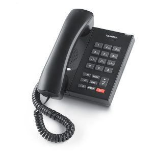 Toshiba - DP5008 Digital Single Line Telephone  (Charcoal)
